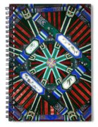 Summer Palace Patterns Spiral Notebook