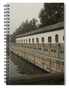 Summer Palace Pond With Ornate Balustrades Spiral Notebook