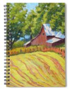 Summer Patterns Spiral Notebook
