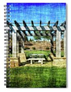 Summer Pergola Rest Spot Spiral Notebook