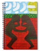 Summer Picnic In Love Spiral Notebook