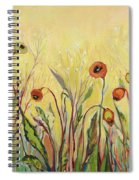 Summer Poppies Spiral Notebook