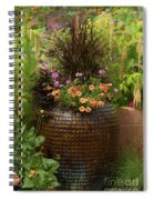 Summer Pot Spiral Notebook