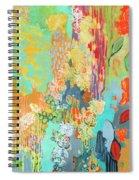 Summer Rain Part 3 Spiral Notebook