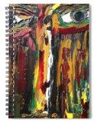 Summer Rain Soldier Spiral Notebook