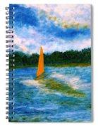 Summer Sailing Spiral Notebook