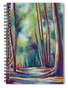 Summer Shadows Spiral Notebook