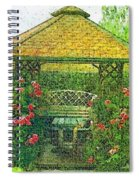 Summer Shelter Spiral Notebook