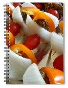 Summer Shish - Kabobs Spiral Notebook