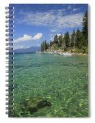 Summer Shore Spiral Notebook
