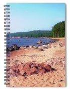 Summer Shores Of Lake Superior Spiral Notebook