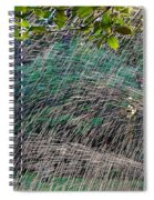 Summer Sprinkler Spiral Notebook