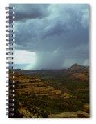 Summer Storm Spiral Notebook