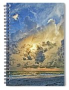 Summer Storms In The Gulf Spiral Notebook