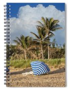 Summer Stripes Spiral Notebook