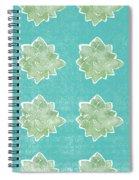 Summer Succulents- Art By Linda Woods Spiral Notebook