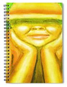Summer Sun Spiral Notebook