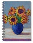 Summer Sunflowers Spiral Notebook