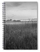 Summer Sunrise 2015 Bw Spiral Notebook