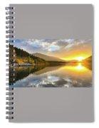Summer Sunrise Spiral Notebook