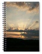 Summer Sunrise Spectacular Spiral Notebook