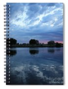 Summer Sunset On Yakima River 5 Spiral Notebook
