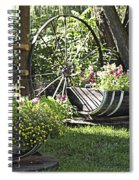 Summer Sweetness In Color Spiral Notebook