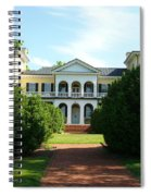 Summer Time At Sweet Briar House Spiral Notebook