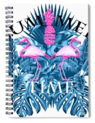 Summer Time Tropical  Spiral Notebook