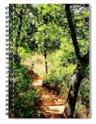 Summer Trail  Spiral Notebook