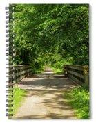 Summer Trail Scene 4 A Spiral Notebook