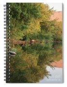 Summer Trees Sunset Spiral Notebook