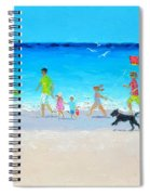 Summer Vacation Time Spiral Notebook