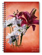 Summer Wild Flowers  Spiral Notebook
