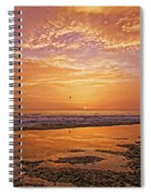 Summer Winds Spiral Notebook
