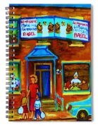 Summers With Mom At Fairmount Spiral Notebook