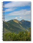 Summertime Alps In Germany Spiral Notebook