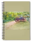 Summertime At The Barn Spiral Notebook