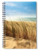 Summertime Blues Spiral Notebook