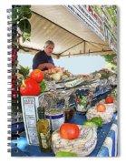Summertime Celebration Spiral Notebook