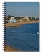 Summertime In Albufeira Spiral Notebook