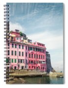 Summertime Town Spiral Notebook