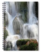Summit Creek Waterfalls Spiral Notebook