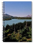 Tagish Lake - Yukon Spiral Notebook