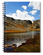 Summit Lake Colorado Spiral Notebook