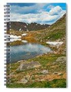 Summit Lake Study 5 Spiral Notebook