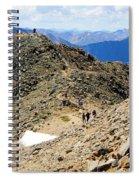 Summit On Mount Massive Summit Spiral Notebook
