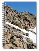 Summiting The Mount Massive Summit Spiral Notebook