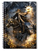 Summoned Skull Fantasy Art Spiral Notebook