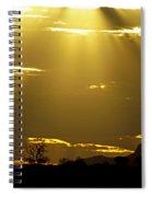 Sun 16 Spiral Notebook